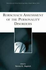 RORSCHACH ASSESSMENT OF THE PERSONALITY DISORDERS - HUPRICH, STEVEN K. (EDT) - N