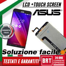 DISPLAY LCD+TOUCH SCREEN PER ASUS ZenFone 2 LASER ZE550KL Z00LD ZE550 NERO