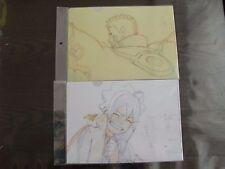 NARUTO-Boruto NARUTO / Boruto 2 Set Clear File Rare Genga Fu [Free shipping]