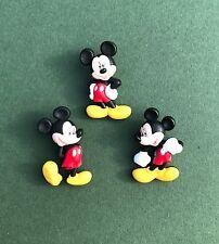 Adorno De Disney Mickey Mouse Botones - - Botones De Niños-favores de partido