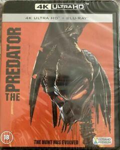 The Predator (4k Ultra HD + Blu Ray) Arnold Schwarzenegger New / Sealed