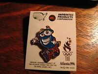 Atlanta Olympics Lapel Pin - Vintage 1996 Georgia Olympic Games Izzy Mascot Pin