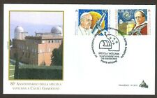Vatican City Sc# 1606-7, Vatican Observatory, First Day Cover