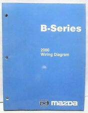 '2000 '00 Mazda B Series Pickup TRUCK Workshop Service WIRING DIAGRAM (only)