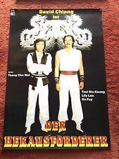 Der Herausforderer Kinoplakat Poster A1, Eastern, David Chiang