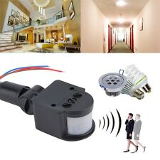 Outdoor Automatic Infrared PIR Motion Sensor Switch Detector for LED Light QT