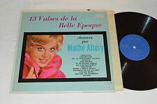 MATHE ALTERY 13 Valses de la Belle Epoque LP Pathe PAM 67.113 Mono Mathé Altéry