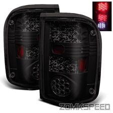 For 93-97 Ford Ranger LED Tail Lights Rear Brake Lamps Dark Smoked