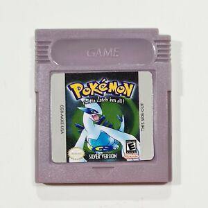 Nintendo Game Boy Modul POKEMON SILVER VERSION engl. Repro/Rollenspiel/Silberne