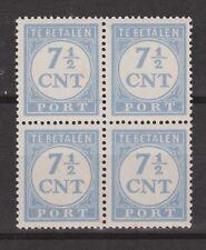 P72 Port 72 blok PF NVPH Nederland Pays Bas Netherlands due stamp sheet MNH