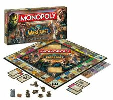 * Monopoly World of Warcraft Collectors Edition OOP NEW