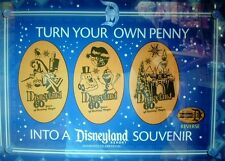 DISNEY 60th 'RETIRED' HOLIDAY PRESSED COPPER PENNY 3 PIECE DECADES SET FAST SHIP