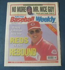 Davey Johnson--Cincinnati Reds--1994 Baseball Weekly
