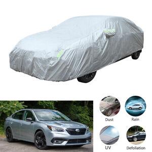 For Subaru Legacy Car Full Cover Weatherproof Sun UV Dust Proof 200x78x59 inch