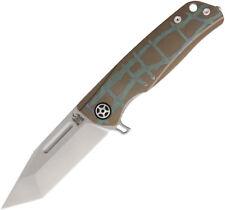 Komoran Titanium Tanto Framelock Knife KD10-4