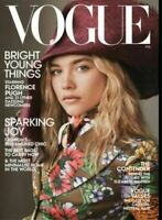 Vogue US Magazine February 2020 - Featuring Florence Pugh