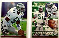 William Thomas Signed 1994 Ultra #477 Card Philadelphia Eagles Auto Autograph