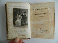 In-18 Beaumarchais El Barbero de Sevilla Teatro Roux-Dufort 1825
