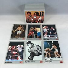 BOXING HALL OF FAME 1991 AW ALL WORLD SPORTS Complete 149 Card Set MUHAMMAD ALI