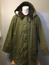 Vtg Barbour Jacket Gamefair Hunting Oiled Waxed Cotton Mens 48 Lining A123 Coat