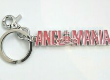 Vivienne Westwood Red 'ANGLOMANIA' Orb Key Chain Keyring