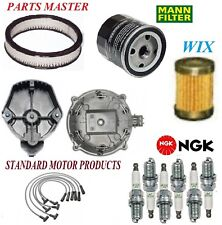 Tune Up Kit Filters Cap Spark Plugs Wire For CHEVROLET MONZA V6 3.8L 1980