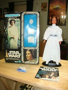 "Star Wars Kenner Vintage Princess Leia Action Figure 12"" 1978 Complete"