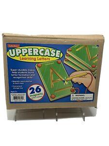Lakeshore UPPERCASE Learning Letters (26 magnetic letter mazes) Brand NEW!!🔥🔥