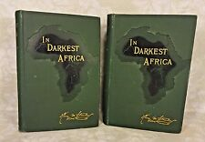In Darkest Africa By Henry M Stanley 1890 2 Vols 1st American Edition