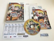 Naruto Clash Of Ninja III 3 Revolution - Nintendo Wii - PAL FR - Avec Notice