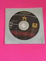🔥 MICROSOFT XBOX - 💯 WORKING GAME DISC ONLY🔥STATE OF EMERGENCY ROCKSTAR