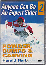 Anyone Can Be an Expert Skier 2: Powder, Bumps and Carving (DVD,2004)Harald Harb