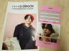 GD GDRAGON YG BIGBANG BIG BANG G-DRAGON VERY SEXY WALL DESK CALENDAR