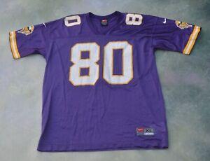 Vintage Nike NFL Minnesota Vikings Cris Carter #80 Jersey Size Youth XL 18-20.