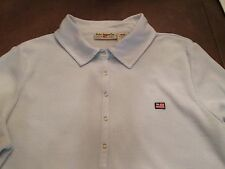 POLO JEANS CO BY RALPH LAUREN SOFT BLUE SHIRT WITH CHEST LOGO SIZE M