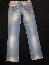 G-Star Raw Italiano Jeans Mujer Core Pierna Recta Envejecido Lavado Talla 28