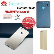 COPRI BATTERIA BATTERY COVER POSTERIORE ORO GOLD ORIGINALE HUAWEI PER HONOR 8