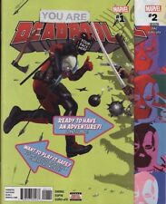 DEADPOOL: YOU ARE DEADPOOL #1,2,3,4,5 Marvel Comics Hulk Spider-Man Avengers SET