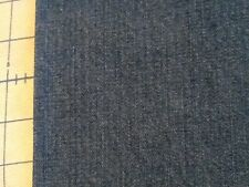 "Denim Fabric Remnant Cotton Polyester Medium Blue 29"" x 24"" Irregular Cut"