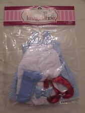 """18"""" Dorothy My Imagination Tonner Doll Outfit Wizard of Oz Ruby Red Slippers"""