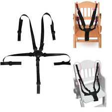 5 Point Baby Safety Belt Strap Harness for Stroller Chair Infant Seat Bluelans
