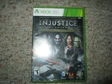 Injustice: Gods Among Us Ultimate Edition (Microsoft Xbox 360, 2013) Complete