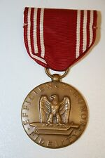 Wow Rare Old Vintage WWII Military Medal Good Conduct Efficiency Honor Fidelity