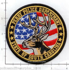 South Carolina - Perry SC Police Dept Patch v1