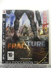 OCCASION: Jeu FRACTURE ps3 playstation 3 sony francais game action combat arme