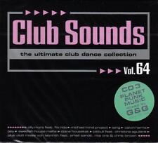 CLUB SOUNDS VOL. 64 - 3CD-SET 2013 * NEW & SEALED *