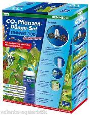 Dennerle CO2 Pflanzen-Dünge-Set EINWEG 300 Quantum CO2-Anlage f. Aquarium