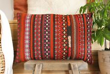 (40*60cm, 16*24inch) Vintage Woven Kilim Pillow Covers tribal weave strong vibe