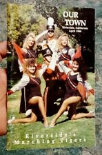 OUR TOWN Riverside California April 1988 Riverside's Marching Tigers RCC cover