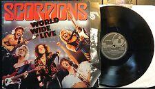 KLP87 - Scorpions - World Wide Live (E 2403431) UK 2LP in FOC + OIS'
